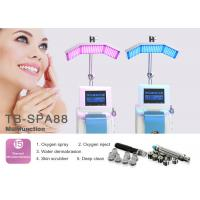 China Multifunctional Diamond Microdermabrasion Machine Skin Spa System For Reducing Age Spots Wrinkle Removal wholesale