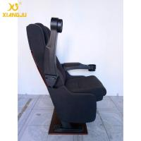 China Foldable Armrest Tip Up VIP Cinema Seating With High Cushion PP Shell Economic wholesale