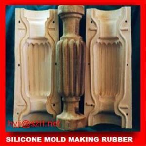 China silicone molds for concrete,RTV-2 silicone rubber for concrete wholesale