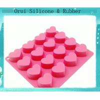 China Chinese valentine's day  DIY silicone chocolate molds wholesale