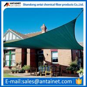 Quality shade sail carport/shade net carport/plastic carports HDPE materail green dark for sale