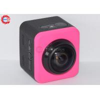 Pink Full Hd 1080p 360 Degree Sports Camera WIFI LCD Car Camcorder Round Mode