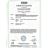 Shenzhen Pride Instrument Inc. Certifications