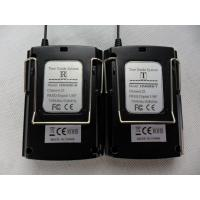 China 008C Digital Wireless Tour Guide System , Black Tour Guide Sound System wholesale