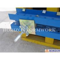 China Galvanized Formwork Tie Rod System With Dywidag Thread , Wing Nut and Steel Cones wholesale