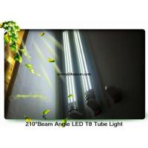 China 210 Degree Angle LED T8 Tube Light  22W wholesale