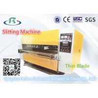 China Ss-W06A Type Thin Blade Slitter & Scorer & Slitting Machinery wholesale