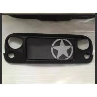 China Jeep Jk Wrangler Spartan Grille_Star Material: ABS Plastic wholesale