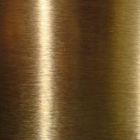 China SUS316L  Golden Colors Colored Stainless Steel Sheets ,PVD Decoration Sheets 1250mm 1500mm Length Max 6000mm wholesale