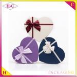 China Handmade korean style reusable heart-shaped paper gift packaging box wholesale