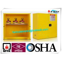 China Fire Proof Outdoor Chemical Storage Cabinets , Gas Cylinder Safety Cabinets wholesale