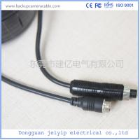 China Rear View Female To Male Backup Camera Cable 4 Pin With Customized Length wholesale