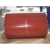 China 0.14mm Ral Color 4 Feet PPGI Coils For Roofing Tile , JIS Prepainted Steel Coil wholesale