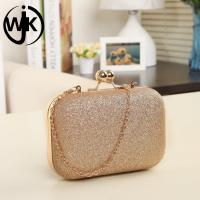 China Amazon hot selling elegant dinner party shiny ladies bags clutch bag evening women wholesale