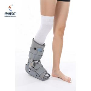 China Black/grey color foot brace drop foot with airbag and chuck adjustable ankle foot brace wholesale
