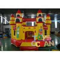 China Yellow  Inflatable Jumping Castle Playing Castle Inflatable Bouncer For Children wholesale