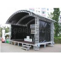 China Customer Design  4 Pillars True Project Stage Lighting Truss 6x6 x 6 M Fixed Height Roofing with High Loading wholesale
