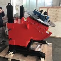 China 2T height adjustment welding positioner with 600mm 3 jaw chucks to Brisbane wholesale