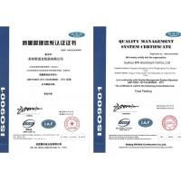 Suzhou SPK Aluminium Foil Co., Ltd. Certifications