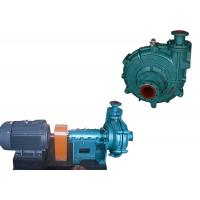 Quality Gold Mining Electric Slurry Pump With Heavy Duty Interchangable Wet Parts for sale