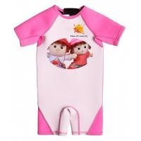 China High Quality Girl Neoprene Wetsuit with UV Protection and Cartoon Twin wholesale