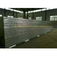 China Fireproof Rockwool Glasswool Rmetal Sandwich Panels With Pir Side Sealing wholesale