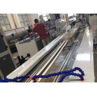 China PVC Profile Making Machine / PVC Profile Extrusion Line With Twin Screw Extruder wholesale