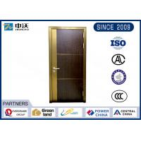 China Decorative Fire Rated Wood Doors / Refuge Room 90 Minute Fire Rated Wood Doors on sale