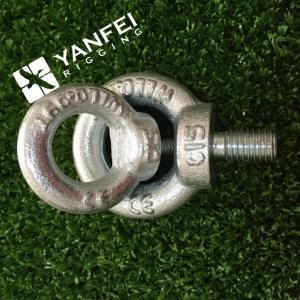 China Qingdao Yanfei Rigging -Rigging Hardware-M6-M8-M10-zinc plated din580 lifting eye bolt on sale
