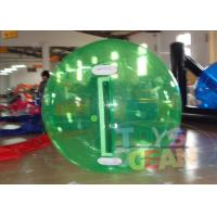 China Green Human Inflatable Walking Ball Outdoor For Water Play Game wholesale