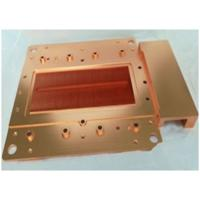 China Precision Brass Stamping Cooling Heatsink Skiving And Machining Heat Sink with Antioxidant Treatment wholesale
