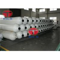Buy cheap GB28884 300-3000L Seamless Steel Tubes For Large Volume Gas Cylinder from wholesalers