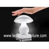 China Touch Controlled Mushroom LED Lamp bluetooth Speaker With Micro SD / TF Card Reader Slot wholesale