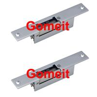 China Narrow Type 12 Volt Electric Door Strike For Metal Doors Long Life Aluminum Alloy wholesale