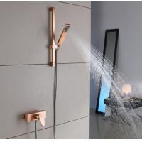 China Portable Hand Hold Shower Rooms Sets Rain Shower Head wholesale
