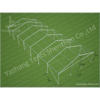 China 300 People Luxury Wedding Tents Rentals Aluminium Frame Marquee With Transparent for sale