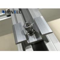 China Anodized PV MID Clamp Solar Roof Mounting Systems For Roof Mounting Systems wholesale