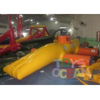 China Green Family Inflatable Sports Games Bouncy Amazing For Swimming Pool wholesale