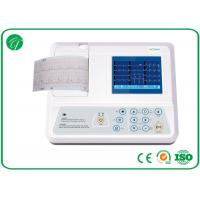 China Single Channel Portable Portable 12 Lead ECG Machine With Ni-Mh Battery wholesale
