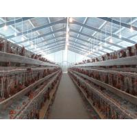 China PVC Down Pipe Poultry Farm Structure With Grey paint Surface wholesale