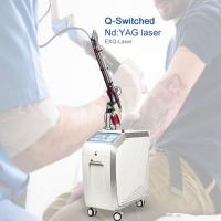 Buy cheap Medical Clinical  Pigmentation Removal Machine Q Switch Nd Yag Laser Tatoo Removal Laser Machine from wholesalers