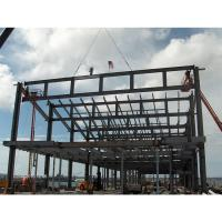 China Durable Machining Center Commercial Office Building Steel Truss Prefab Construction wholesale
