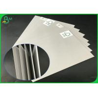 China FSC Certificated 1.0mm 1.5mm 2.0mm 2.5mm 70 x 100cm Uncoated Grey Board For Packages Boxes wholesale