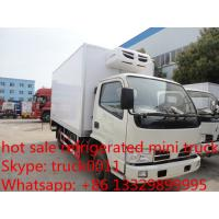China hot sale best price CLW brand 3-5ton mini refrigerated truck for sale, China brand 3tons-5tons cold room truck for sale on sale