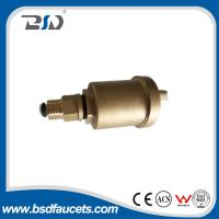 Quality 15mm brass water radiator valve automatic air vent valve with check valve for sale