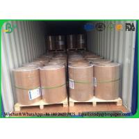 China Double Sides Uncoated Jumbo Roll Paper 841mm 55gsm 60gsm 70gsm 80gsm For School Excercise wholesale