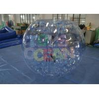 China Giant Hamster  Inflatable Bumper Ball For People Color Striped wholesale