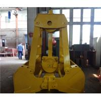 China  Marine Ship Single Rope Grab / High Efficiency Mechanical Clamshell Grab Bucket  for sale