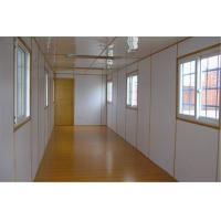 China Light Steel Used Living Metal Container Houses / Prefab Metal Buildings wholesale