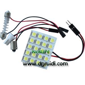 China Led Reading Light Led dome led interior bulb led 20pcs 5050 SMD 3W car top lighting wholesale